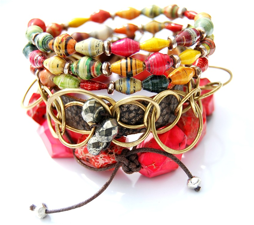 Wrapped, Stacked & Layered Challenge: REVEAL | Make Bracelets!