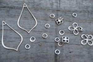Nina Designs silver components