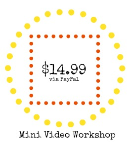 Video Workshop Button